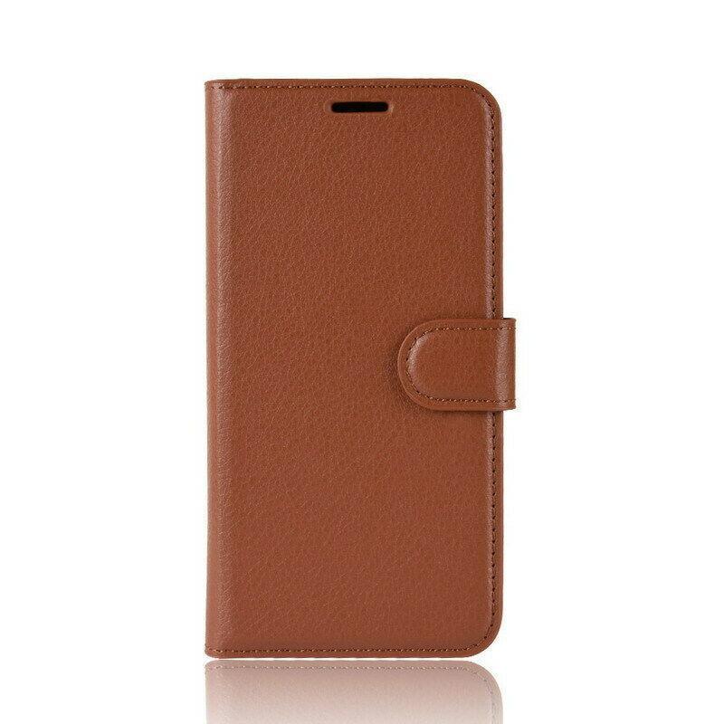 Чехол-книжка Litchie Wallet для Samsung A102 Galaxy A10e Brown (hub_NrHa10255)