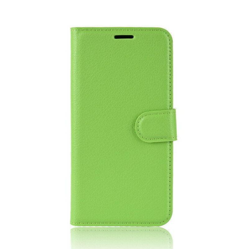Чехол-книжка Litchie Wallet для Samsung A102 Galaxy A10e Green (hub_hGEf63121)