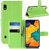 Чехол-книжка Litchie Wallet для Samsung A102 Galaxy A10e Green (hub_hGEf63121), фото 2