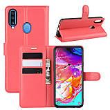 Чохол-книжка Litchie Wallet для Samsung A207 Galaxy A20s Red 9hub_wSkO42081), фото 2