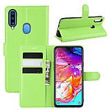 Чохол-книжка Litchie Wallet для Samsung A207 Galaxy A20s Green (hub_ZtBD51444), фото 2