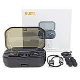 Bluetooth гарнитура Kumi T3S Black (1151-2552), фото 4