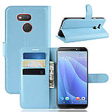 Чехол-книжка Litchie Wallet для HTC Desire 12s Blue (hub_frgC57728), фото 2