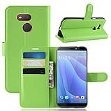 Чохол-книжка Litchie Wallet для HTC Desire 12s Green (hub_KbxX63050), фото 2