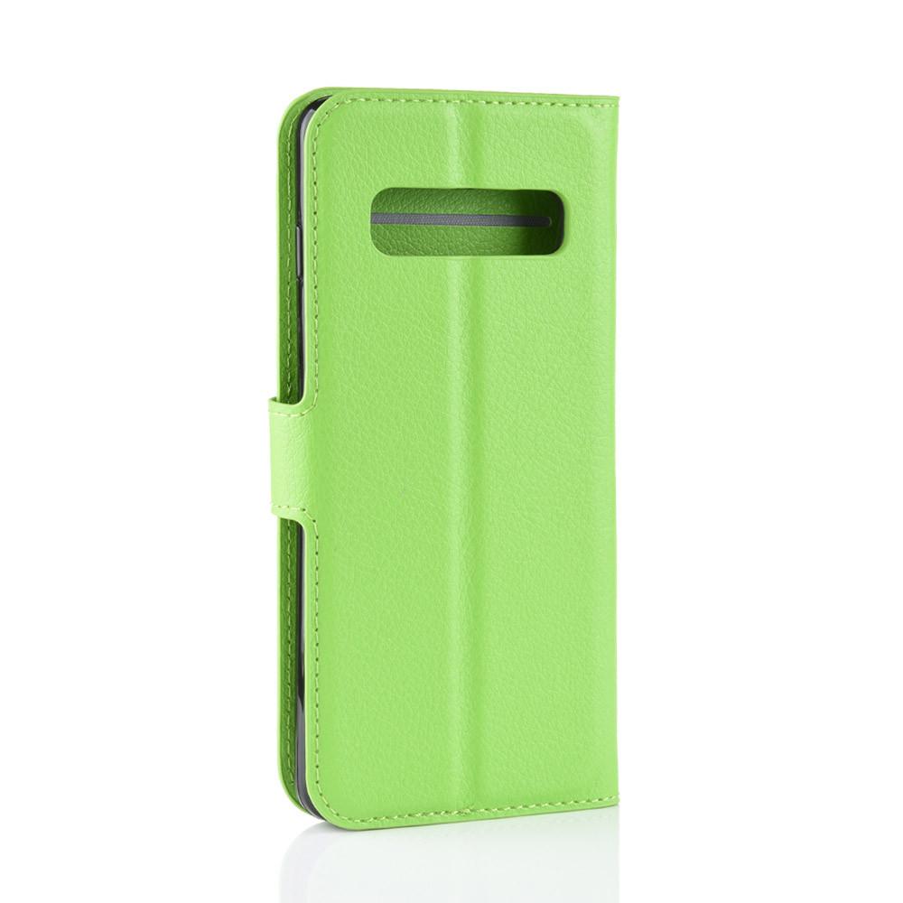 Чохол-книжка Litchie Wallet для Samsung Galaxy S10 5G Green (hub_cJtQ11802)