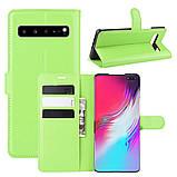 Чохол-книжка Litchie Wallet для Samsung Galaxy S10 5G Green (hub_cJtQ11802), фото 2