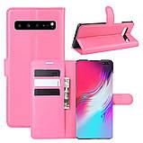 Чехол-книжка Litchie Wallet для Samsung Galaxy S10 5G Rose (hub_xuCL64156), фото 2