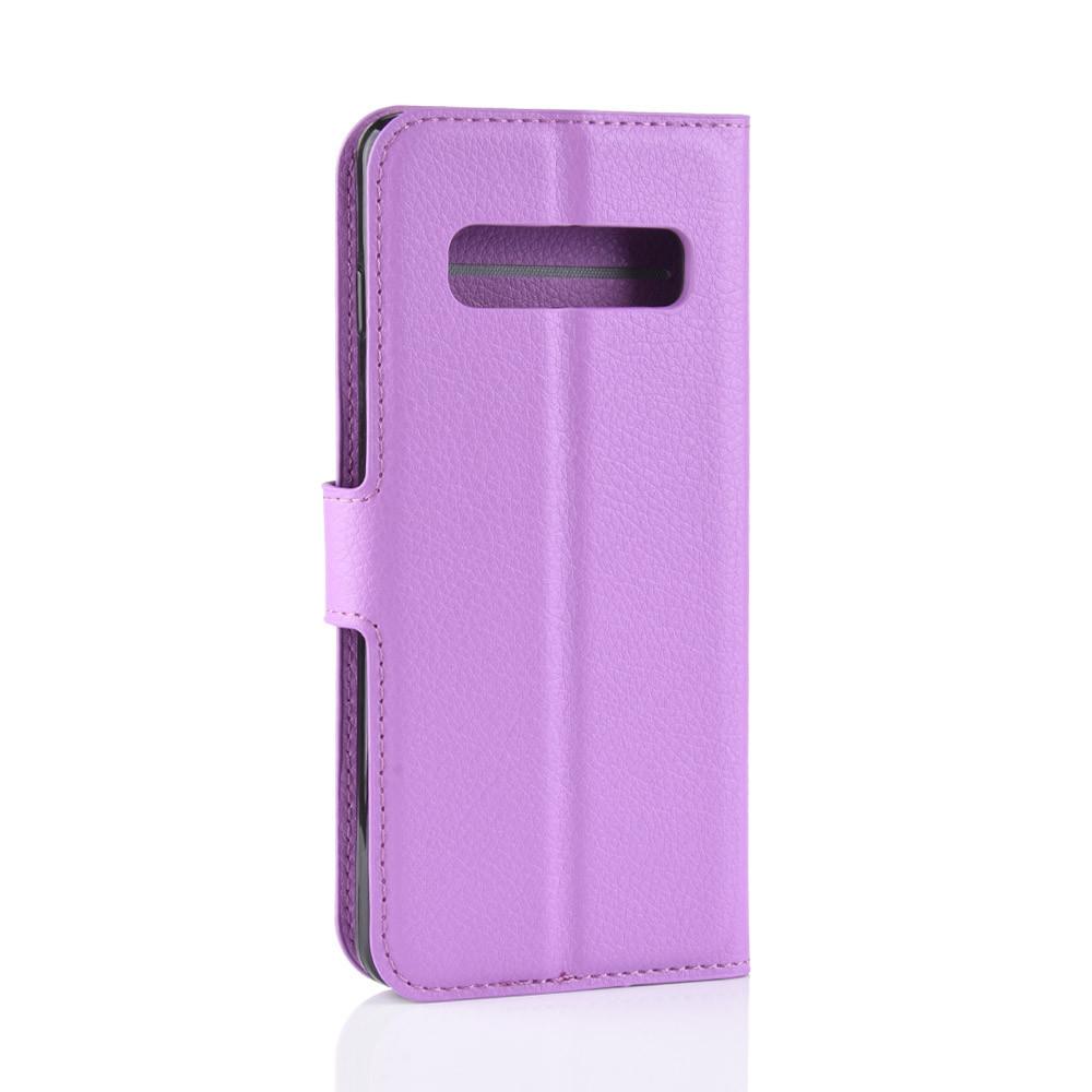 Чехол-книжка Litchie Wallet для Samsung Galaxy S10 5G Violet (hub_tcsT02055)