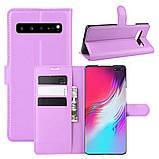 Чехол-книжка Litchie Wallet для Samsung Galaxy S10 5G Violet (hub_tcsT02055), фото 2