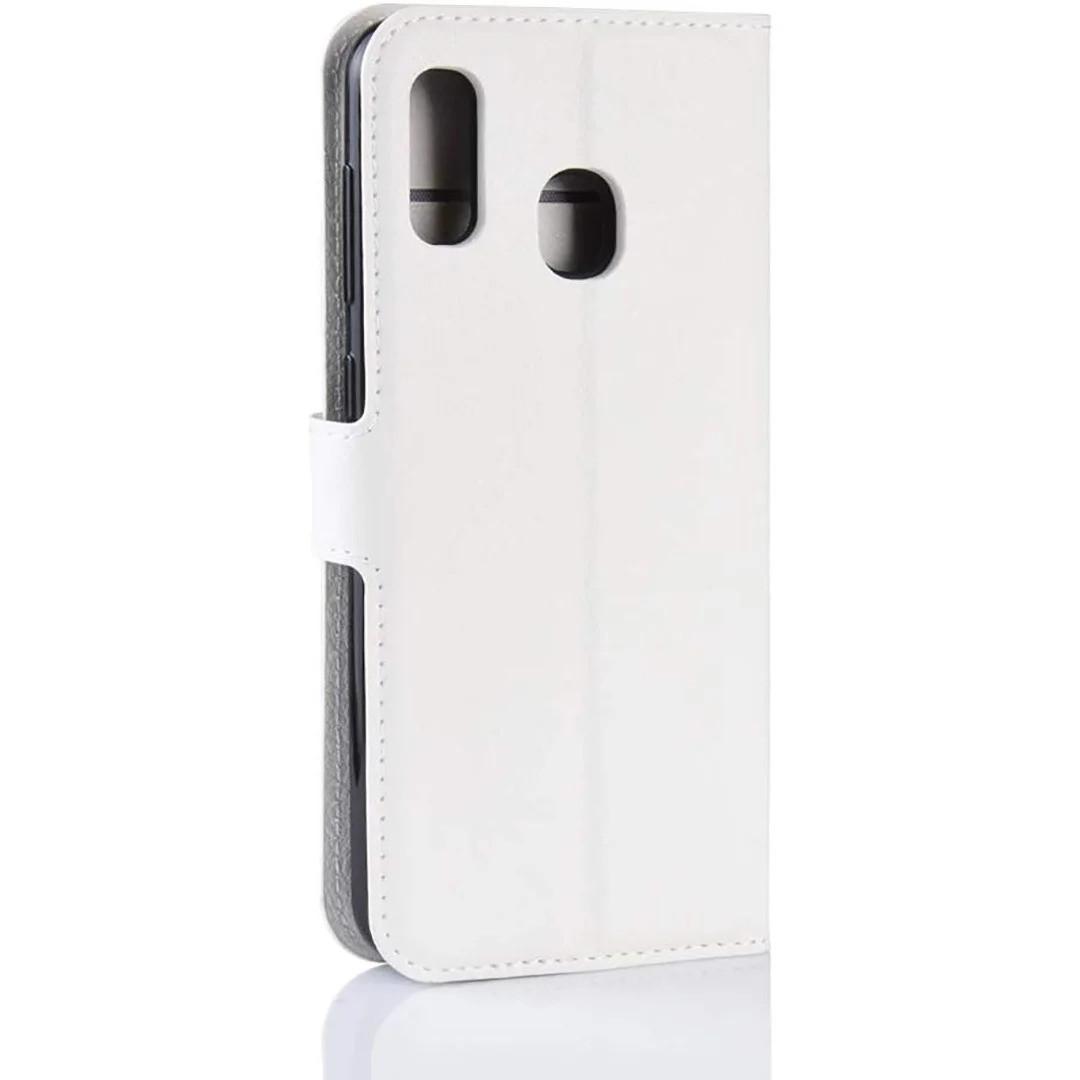 Чехол-книжка Litchie Wallet для Samsung A202 Galaxy A20e White (hub_ZtlZ34346)
