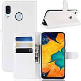 Чехол-книжка Litchie Wallet для Samsung A202 Galaxy A20e White (hub_ZtlZ34346), фото 2
