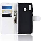 Чехол-книжка Litchie Wallet для Samsung A202 Galaxy A20e White (hub_ZtlZ34346), фото 5