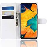 Чехол-книжка Litchie Wallet для Samsung A202 Galaxy A20e White (hub_ZtlZ34346), фото 6