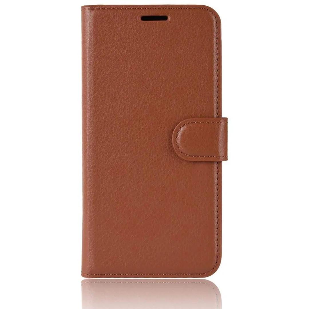 Чехол-книжка Litchie Wallet для Samsung A202 Galaxy A20e Brown (hub_lRUa54539)