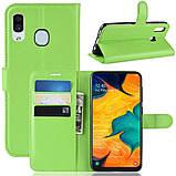 Чехол-книжка Litchie Wallet для Samsung A202 Galaxy A20e Green (hub_pYdB93890), фото 2