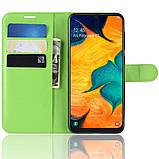 Чехол-книжка Litchie Wallet для Samsung A202 Galaxy A20e Green (hub_pYdB93890), фото 3