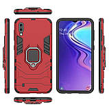 Чехол Ring Armor для Samsung M105 Galaxy M10 Красный (hub_VFdP57536), фото 4