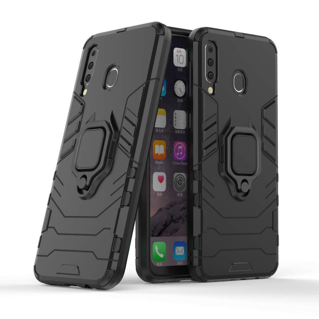 Чохол Ring Armor для Samsung M305 Galaxy M30 / A40s Чорний (hub_gIcN35664)