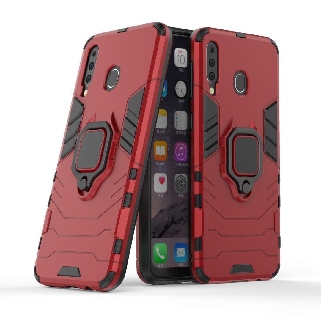 Чехол Ring Armor для Samsung M305 Galaxy M30 / A40s Красный (hub_KSVW77114)