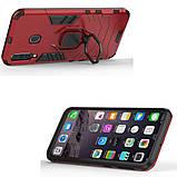 Чехол Ring Armor для Samsung M305 Galaxy M30 / A40s Красный (hub_KSVW77114), фото 3