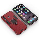 Чехол Ring Armor для Samsung M305 Galaxy M30 / A40s Красный (hub_KSVW77114), фото 4