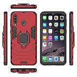 Чехол Ring Armor для Samsung M305 Galaxy M30 / A40s Красный (hub_KSVW77114), фото 5
