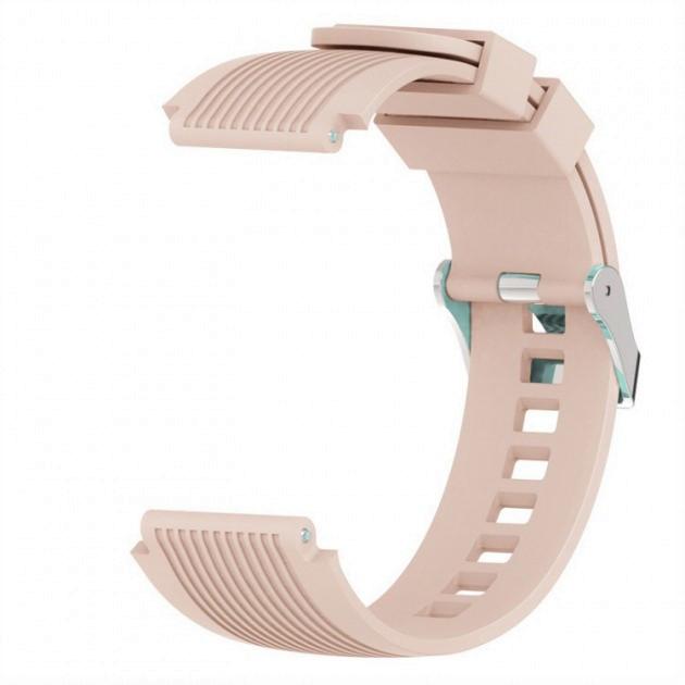 Ремешок BeWatch для Samsung Galaxy Watch 3 45 mm силиконовый 22 мм ECO2 Крем (1022122)