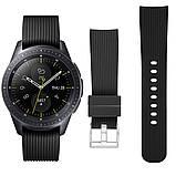Ремешок BeWatch шириной 20 мм для Samsung Galaxy Active 2   Galaxy watch 3 41 мм Черный (1012101), фото 2