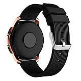 Ремешок BeWatch шириной 20 мм для Samsung Galaxy Active 2   Galaxy watch 3 41 мм Черный (1012101), фото 5
