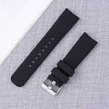 Ремешок BeWatch шириной 20 мм для Samsung Galaxy Active 2   Galaxy watch 3 41 мм Черный (1012101), фото 8