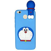 Чехол 3D Cartoon Case для Xiaomi Redmi 4X Кот (hub_vuQg45911)