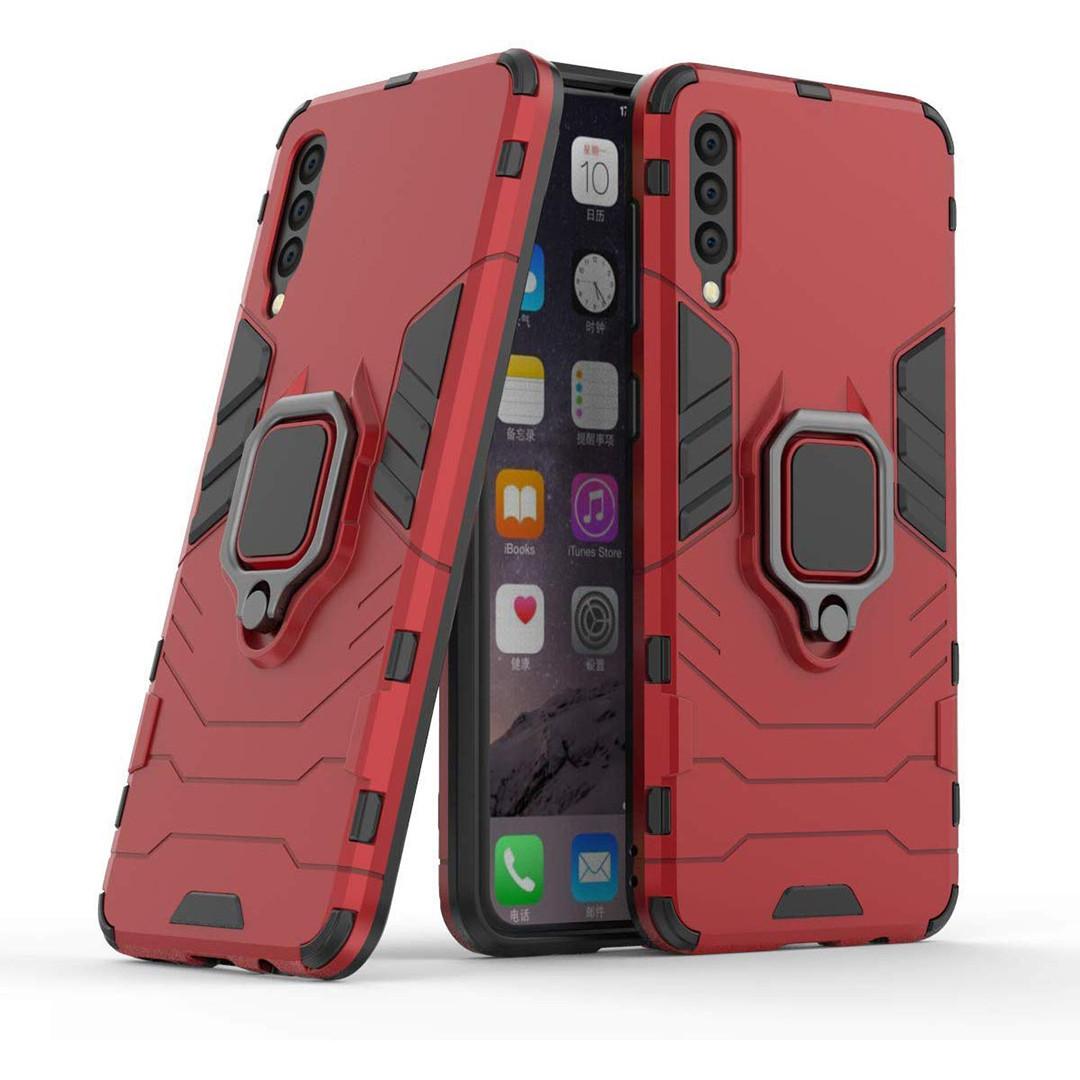 Чехол Ring Armor для Samsung A505 Galaxy A50 Красный (hub_JWqp26662)