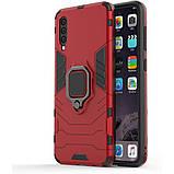 Чехол Ring Armor для Samsung A505 Galaxy A50 Красный (hub_JWqp26662), фото 2