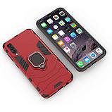 Чехол Ring Armor для Samsung A505 Galaxy A50 Красный (hub_JWqp26662), фото 3