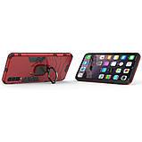 Чехол Ring Armor для Samsung A505 Galaxy A50 Красный (hub_JWqp26662), фото 4