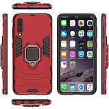 Чехол Ring Armor для Samsung A505 Galaxy A50 Красный (hub_JWqp26662), фото 5