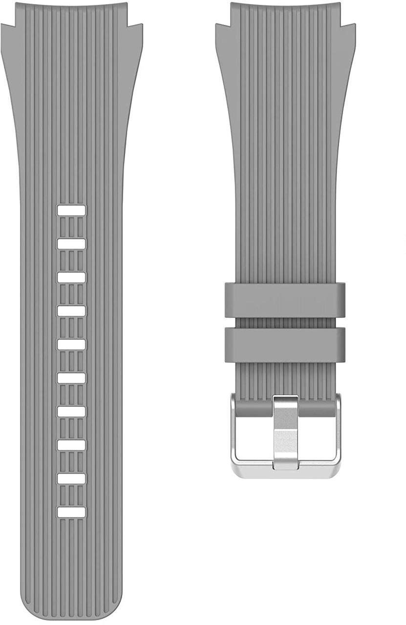 Ремінець 22 мм BeWatch ECO2 для Xiaomi Amazfit Stratos | Pace | GTR 47mm Сірий (1012104.47)