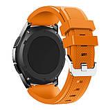 Ремешок 22 мм BeWatch ECO для Samsung Galaxy Watch 46mm | Samsung Gear S3 Оранжевый (1021107.3), фото 2
