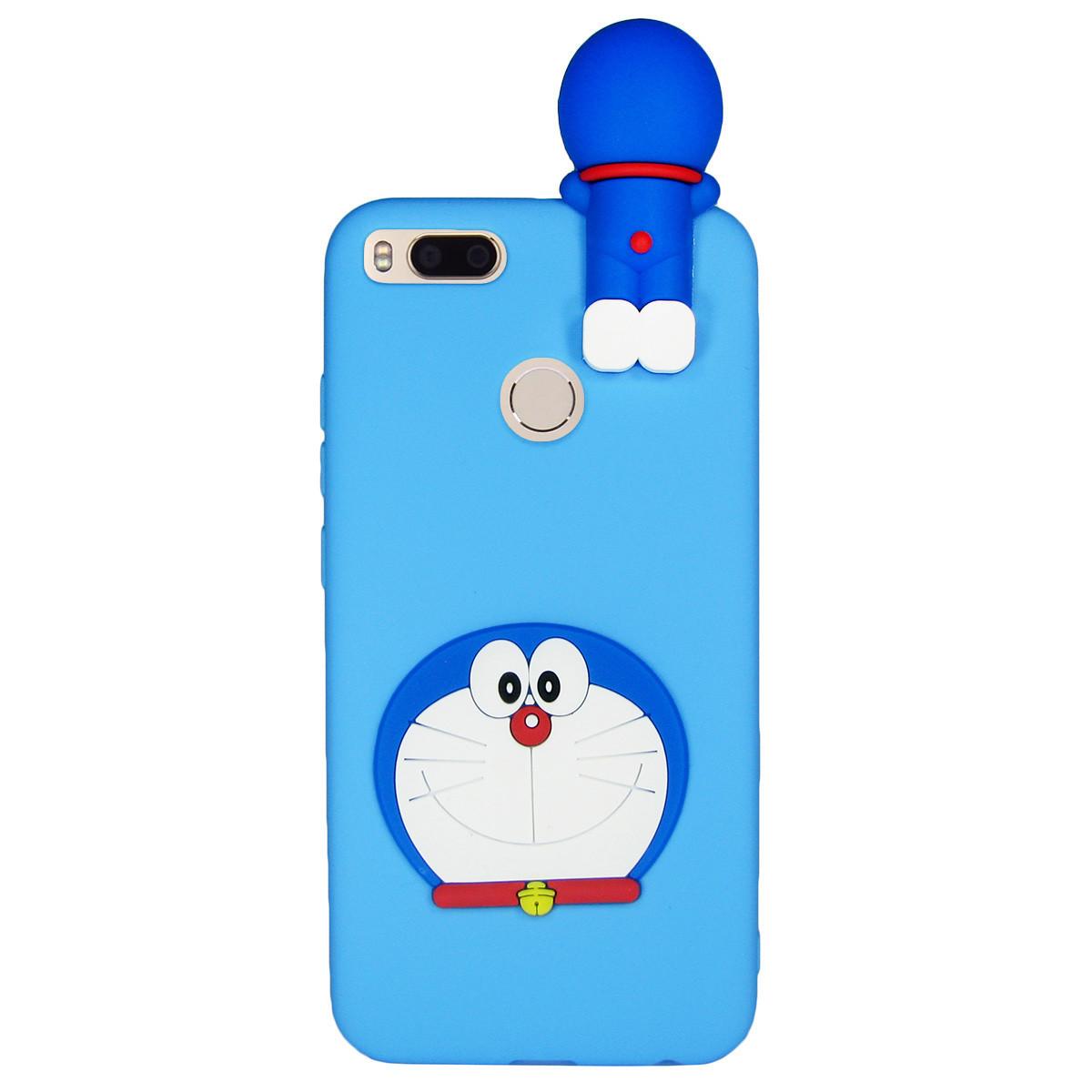 Чехол 3D Cartoon Case для Xiaomi Mi A1 / Mi 5X Кот (hub_JxSs34348)