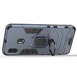 Чехол Ring Armor для Samsung Galaxy A20 / Galaxy A30 Синий (hub_IPHs41325), фото 2