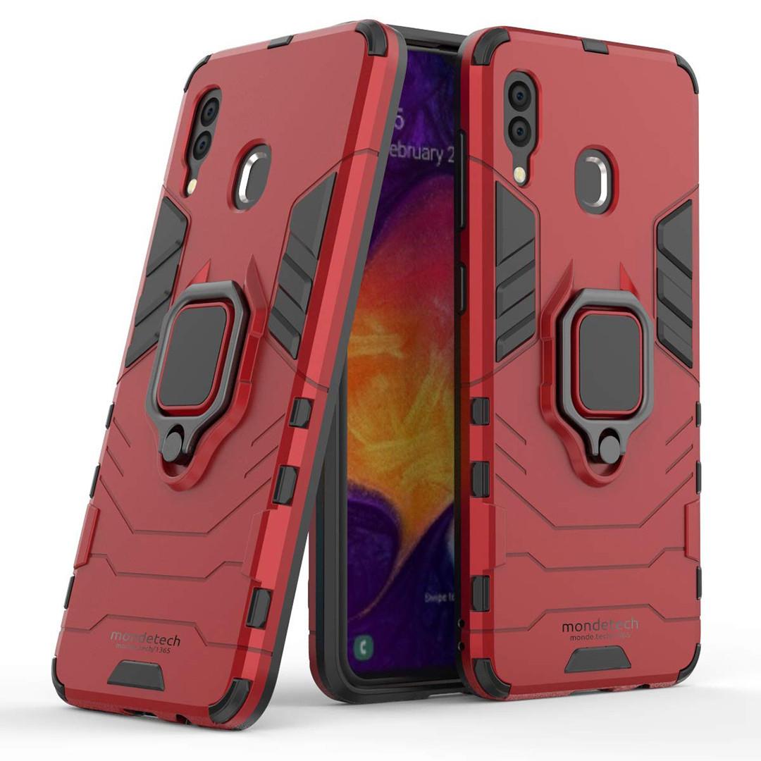 Чехол Ring Armor для Samsung Galaxy A20 / Galaxy A30 Красный (hub_ydII55886)