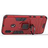 Чехол Ring Armor для Samsung Galaxy A20 / Galaxy A30 Красный (hub_ydII55886), фото 2