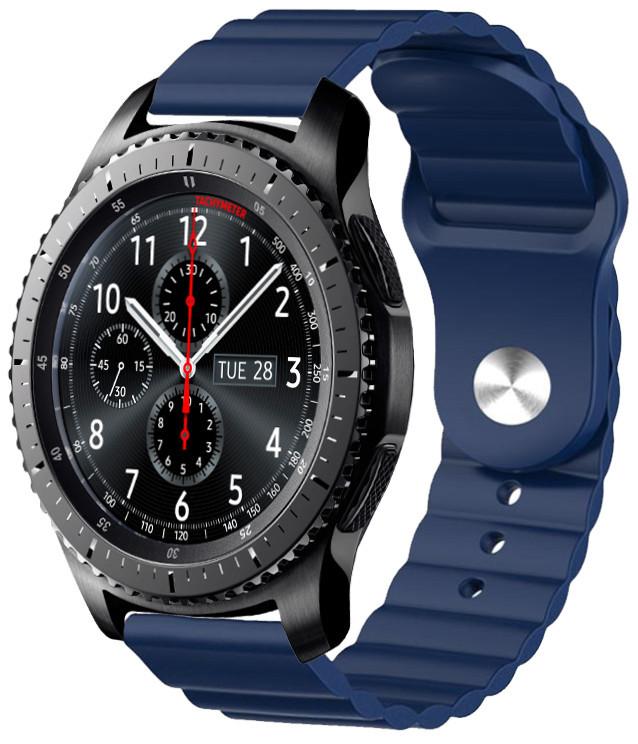Ремешок силиконовый 22мм для Samsung Gear S3   Galaxy Watch 46   Galaxy Watch 3 45 mm LineS BeWatch
