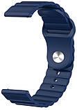 Ремешок силиконовый 22мм для Samsung Gear S3   Galaxy Watch 46   Galaxy Watch 3 45 mm LineS BeWatch, фото 3