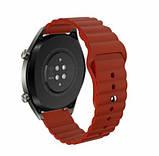 Ремешок силиконовый BeWatch 22мм для Samsung Gear S3 | Galaxy Watch 46 | Galaxy Watch 3 45 mm LineS, фото 2