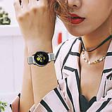 Ремешок BeWatch для Samsung Galaxy Watch 42  Galaxy Watch 3 41  Active  Active2 нейлоновый 20мм липучка Белый, фото 6