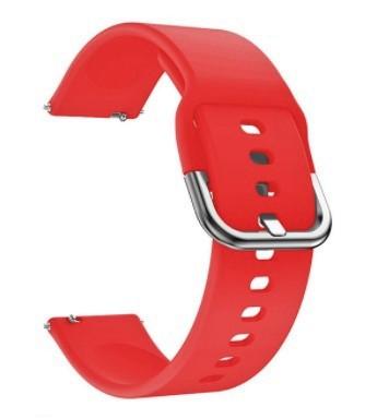 Ремешок BeWatch для Samsung Galaxy Watch 42 | Galaxy Watch 3 41mm силиконовый 20мм Красный (1012503)