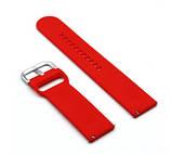 Ремешок BeWatch для Samsung Galaxy Watch 42 | Galaxy Watch 3 41mm силиконовый 20мм Красный (1012503), фото 3