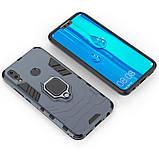 Чохол Ring Armor для Huawei Y9 2019 / Enjoy 9 Plus Синій (hub_cqyz06141), фото 3
