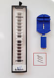 Ремешок BeWatch classic стальной Link для Xiaomi Amazfit Stratos   Pace   GTR 47mm мм Silver (1021405), фото 5